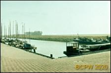 Port rybacki, widok ogólny, Huizen, Niderlandy