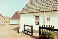 Dom rybacki, fragment elewacji, Huizen, Niderlandy