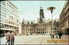 Śródmieście, plac przed Ratuszem, Rotterdam, Niderlandy
