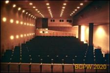 Kino Venster, sala widowiskowa, wnętrze, Rotterdam, Niderlandy