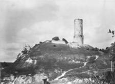 Ruiny zamku biskupów krakowskich w Iłży