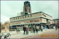 Dom towarowy w Śródmieściu, widok od strony ulicy, Rotterdam, Niderlandy
