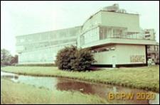 Fabryka Van Nelle, widok od strony kanału, Rotterdam, Niderlandy