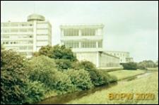 Fabryka Van Nelle, fragment elewacji budynku, Rotterdam, Niderlandy