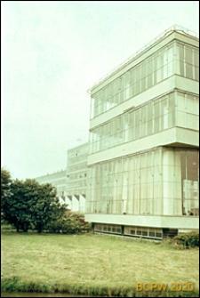Fabryka Van Nelle, szklana elewacja budynku, Rotterdam, Niderlandy