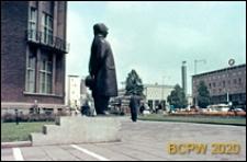 """Śródmieście, rzeźba wolnostojąca """"Monsieur Jacques"""", Rotterdam, Niderlandy"""