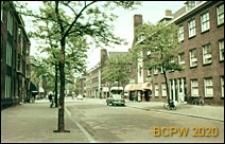 Ulica w centrum miasta, Schiedam, Niderlandy