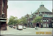 Fragment zabudowy jednej z ulic miasta, Schiedam, Niderlandy