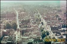 Panoramiczny widok miasta z wieży Katedry, Utrecht, Niderlandy