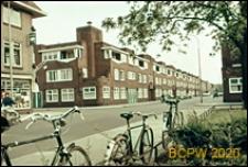 Fragment zabudowy w centrum miasta, Utrecht, Niderlandy