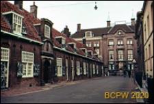 Domy rencistów i budynek fundacji Renswoude, widok zewnętrzny, Utrecht, Niderlandy