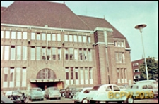 Gmach dawnej Poczty Głównej, widok zewnętrzny, Utrecht, Niderlandy