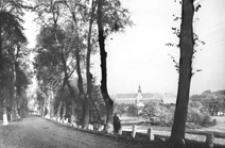 Widok na klasztor cystersów w Koronowie
