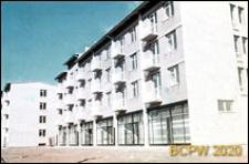 Zabudowa nad Mołtawą, czterokondygnacyjne budynki mieszkalne, Gdańsk