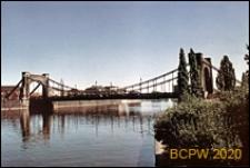 Most Grunwaldzki, widok ogólny od strony Odry, Wrocław