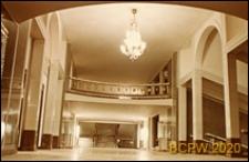 Teatr Wielki Opery i Baletu, widok wnętrza, hall, Warszawa