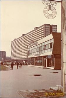 Superjednostka, widok ogólny od strony chodnika, Katowice