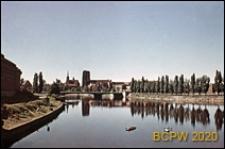 Panorama miasta od strony Odry, Wrocław