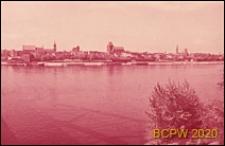 Panorama miasta od strony Wisły, Toruń