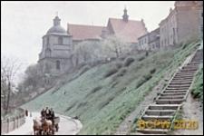 Skarpa Starego Miasta, widok ogólny z zabudową, Lublin