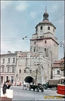 Widok ogólny od strony ulicy w kierunku Bramy Krakowskiej, Lublin