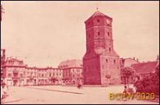 Zabudowa wokół wieży ratuszowej na rynku, Żnin