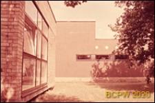 Dom Akademicki I, fragment elewacji pawilonu stołówki, Berlin, Niemcy
