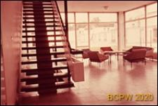 Dom Akademicki II, wnętrze hallu, Berlin, Niemcy