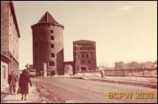 Baszta, widok od strony ulicy, Gdańsk