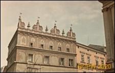 Kamienice przy Rynku, fragment elewacji, Lublin