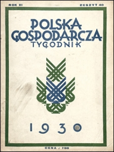 Polska Gospodarcza 1930 nr 40