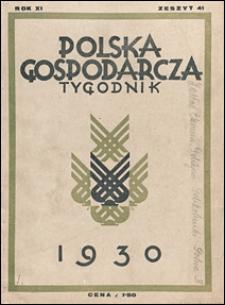 Polska Gospodarcza 1930 nr 41