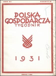 Polska Gospodarcza 1931 nr 16