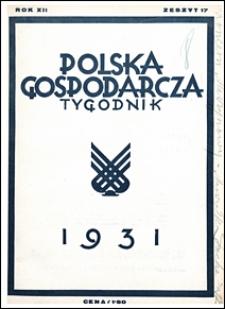 Polska Gospodarcza 1931 nr 17