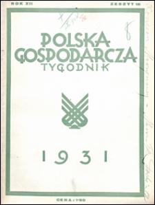 Polska Gospodarcza 1931 nr 18