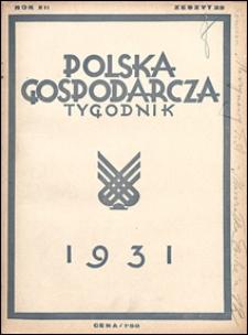 Polska Gospodarcza 1931 nr 22