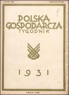 Polska Gospodarcza 1931 nr 23