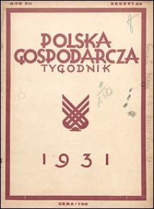 Polska Gospodarcza 1931 nr 25
