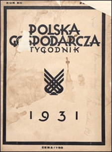 Polska Gospodarcza 1931 nr 26