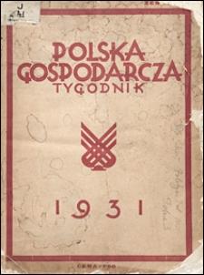 Polska Gospodarcza 1931 nr 27