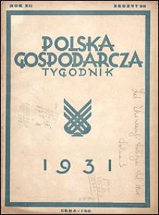 Polska Gospodarcza 1931 nr 28