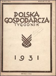 Polska Gospodarcza 1931 nr 29
