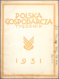 Polska Gospodarcza 1931 nr 30