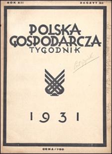 Polska Gospodarcza 1931 nr 32