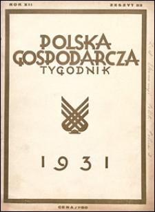 Polska Gospodarcza 1931 nr 33