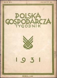Polska Gospodarcza 1931 nr 34