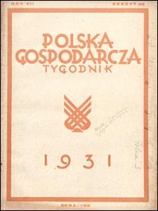 Polska Gospodarcza 1931 nr 35