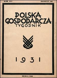 Polska Gospodarcza 1931 nr 36