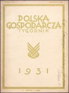 Polska Gospodarcza 1931 nr 39