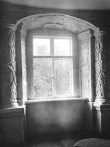 Kamienica ormiańska Pod Aniołem w Zamościu. Obramienie okienne we wnętrzu